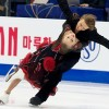 Sinitsina and Zhiganshin lead dance in Beijing; teammates follow