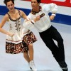 Virtue and Moir polka to the lead