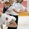 Domnina of Shabalin lead ice dance in Moscow
