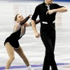 Denney and Frazier lead junior pairs in San Jose