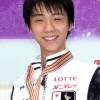 Hanyu captures turbulent Men's short at 2013 Four Continents