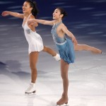 Michelle Kwan and Yuna Kim