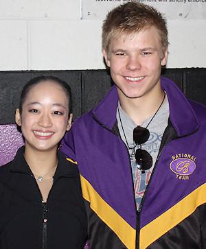 Lauren Dinh and Lukas Kaugers