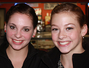 Carly Gold and Gracie Gold