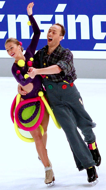 Nelli Zhiganshina and Alexander Gazsi