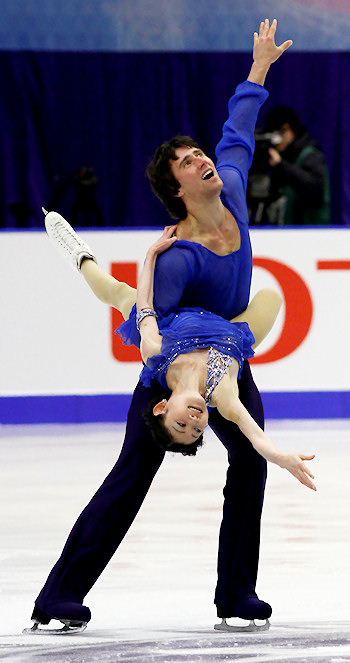 Yuko Kavaguti and Alexander Smirnov