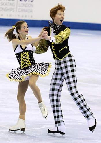 Lauren Collins and Danny Seymour