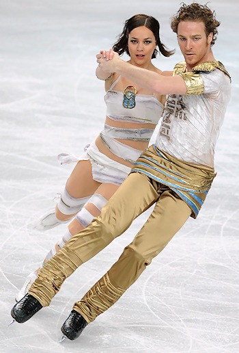 Nathalie Pechalat and Fabian Bourzat