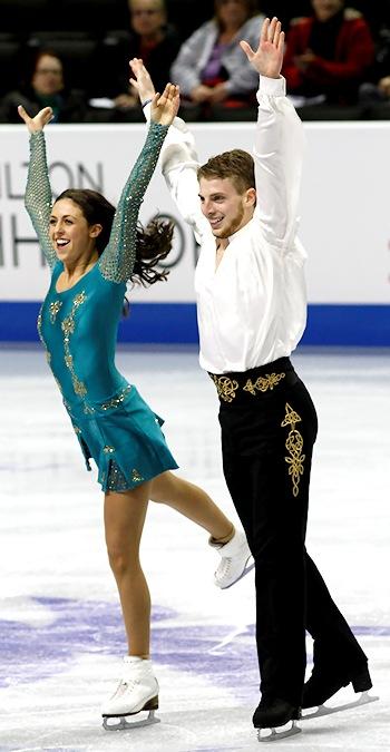 Alexandra Aldridge and Daniel Eaton