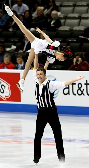 Chelsea Liu and Devin Perini