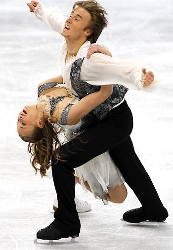 Victoria Sinitsina and Ruslan Zhiganshin