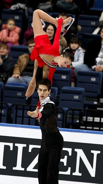 Vasilisa Davankova and Andrei Deputat