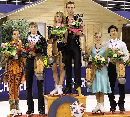 2012 JGP Courchevel: Dance Podium