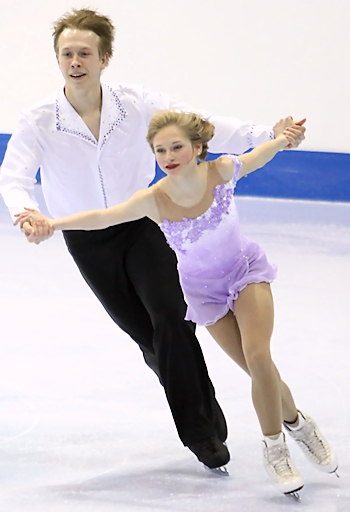 Hayleigh Bell and Alistair Sylvester
