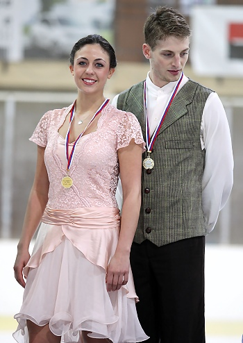 Alexandra Aldridge and Daniel Eaton