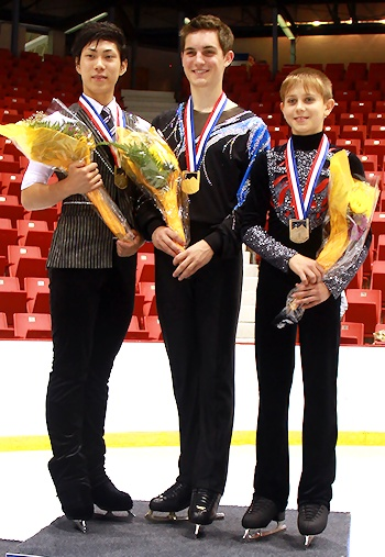 2012 JGP Lake Placid Men's Podium