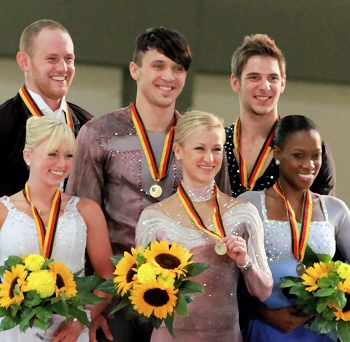 2012 Nebelhorn Trophy Pairs Podium