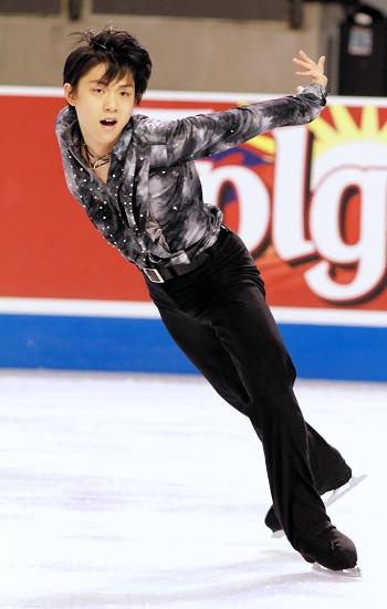 Yuzuru Hanyu at 2012 Skate America