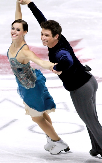 Tessa Virtue and Scott Moir at 2012 Skate Canada