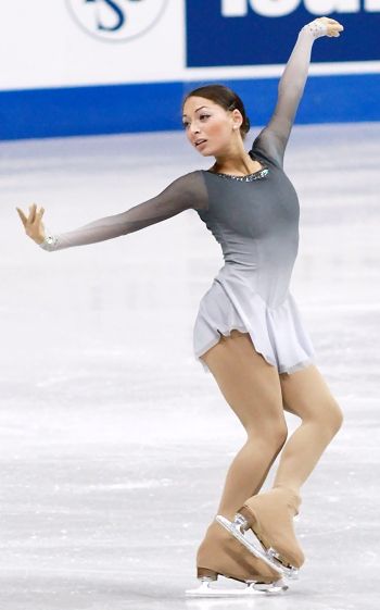 Elene Gedevanishvili at 2012 Skate Canada
