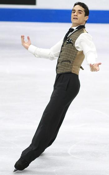 Javier Fernandez at 2012 Skate Canada