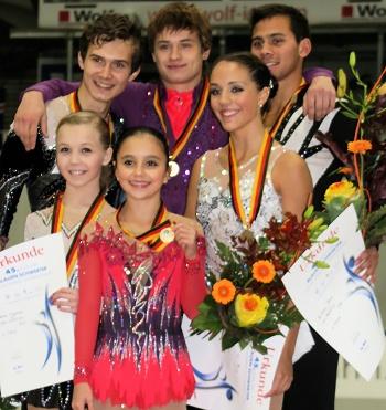2012 JGP Chemnitz Pairs Podium