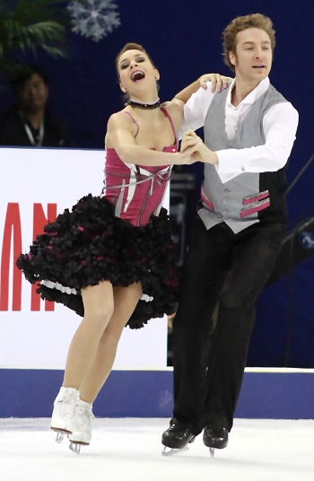 Nathalie Pechalat and Fabian Bourzat at 2012 Cup of China
