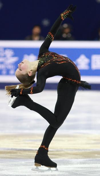 Julia Lipnitskaya  2012 Cup of China