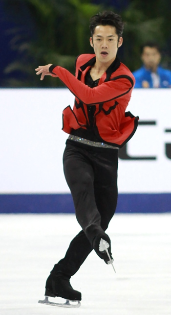 Daisuke Takahashi at 2012 Cup of China