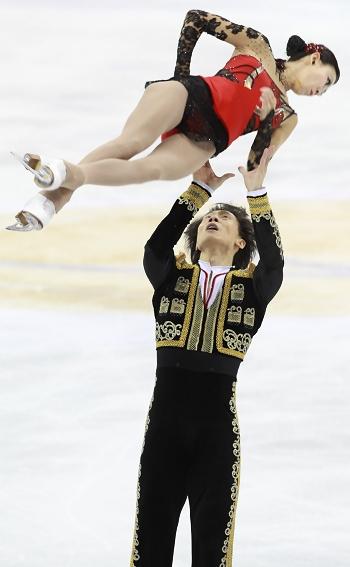 Qing Pang and Jian Tong 2012 Cup of China