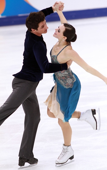 Tessa Virtue and Scott Moir 2012 Cup of Russia