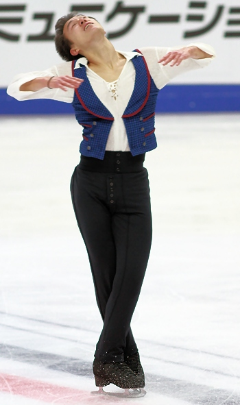 Patrick Chan at 2012 Cup of Russia