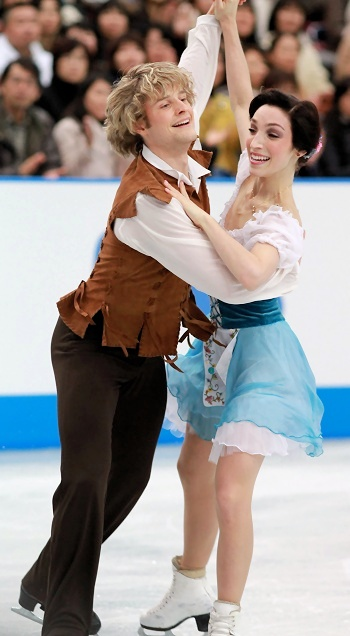 Meryl Davis and Charlie White at 2012 NHK Trophy