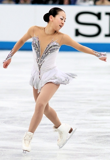 Mao Asada at 2012 NHK Trophy