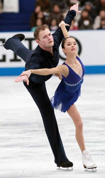 Vera Bazarova And Yuri Larionov at 2012 NHK Trophy