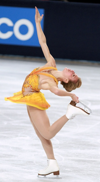 Ashley Wagner at 2012 Trophee Eric Bompard
