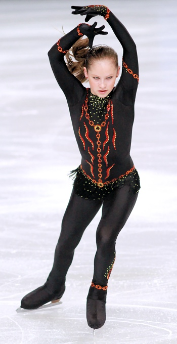 Julia Lipnitskaya  at 2012 Trophee Eric Bompard
