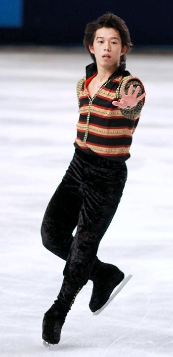Takahito Mura at 2012 Trophee Eric Bompard