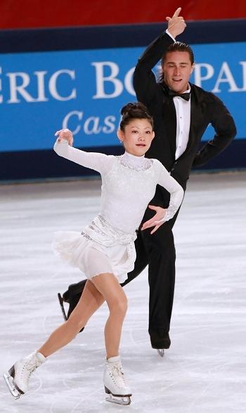 Yuko Kavaguti and Alexander Smirnov at 2012 Trophee Eric Bompard