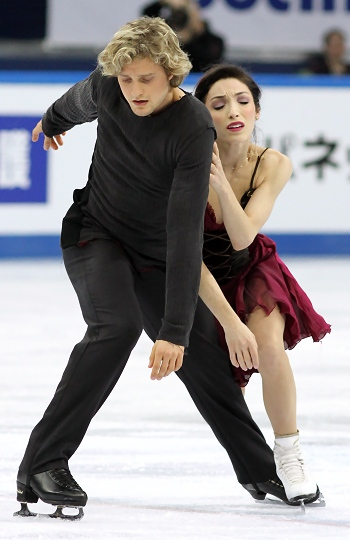 Meryl Davis and Charlie White at the 2012-13 Grand Prix Final