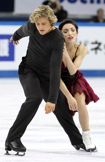 Meryl Davis and Charlie White at the 2012-13 Grand Prix Final