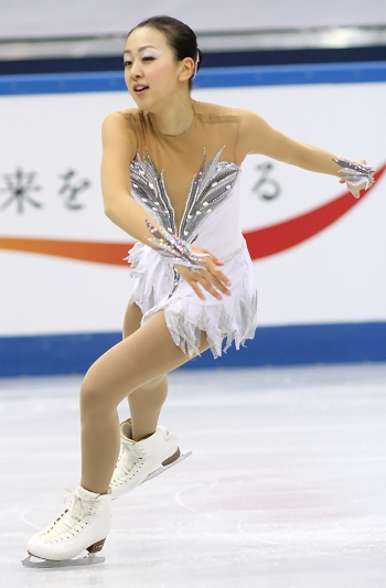 Mao Asada at the 2012-13 Grand Prix Final