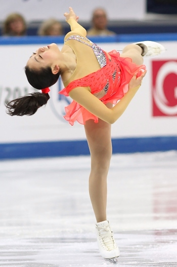 Mao Asada at the 2012-13 Grand Prix Final of Figure Skating