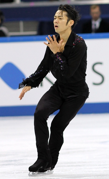 Daisuke Takahashi at the 2012-13 Grand Prix Final