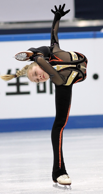 Elena Radionova at the 2012-13 Junior Grand Prix Final of Figure Skating