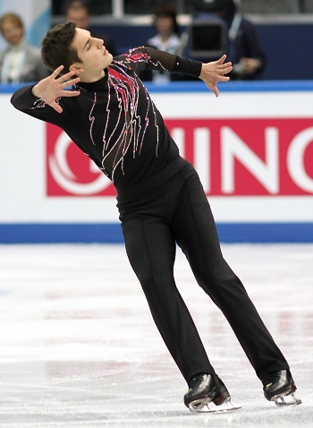 Joshua Farris at the 2012-13 Junior Grand Prix Final of Figure Skating
