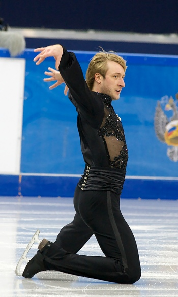 Evgeni Plushenko at the 2013 Russian National Figure Skating Championships