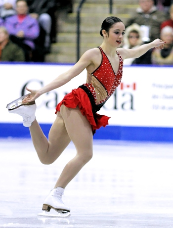 Kaetlyn Osmond performs her Long Program at the 2013 Canadian National Figure Skating Championships.