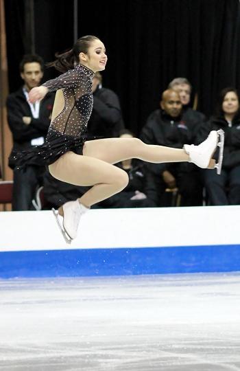 Kaetlyn Osmond performs her Short Program at the 2013 Canadian National Figure Skating Championships.
