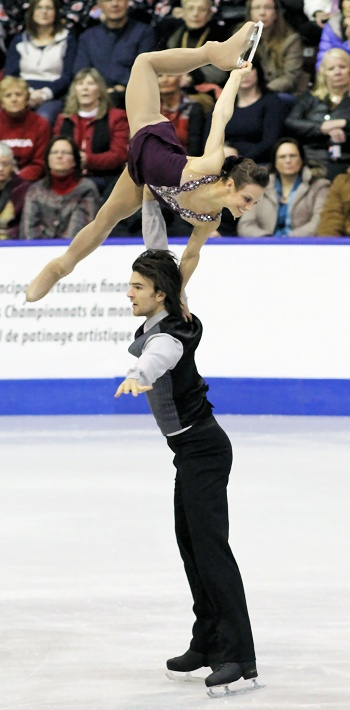 Meagan Duhamel and Eric Radford perform their Long Program at the 2013 Canadian National Figure Skating Championships.
